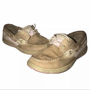 Sperry Top Sider 2 Eye Boat Shoes 9244328 Size 9M